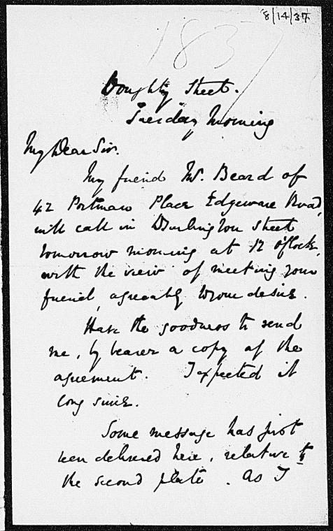 on 8/15/1837