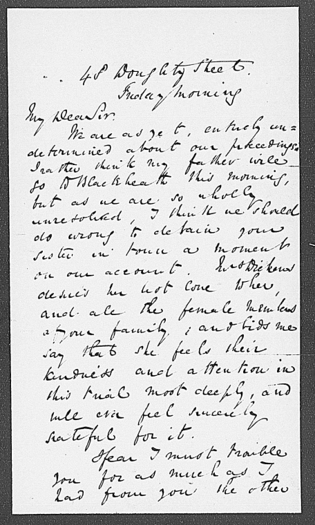 This is What Charles Dickens and Chapman Edward. ALS to [1837 May] Looked Like  in 1837