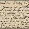 O'Connor, William D., APCS to. Jun. 25, [1882].