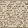 O'Connor, William D., APCS to. Jul. 11, [1882].
