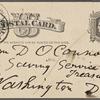 O'Connor, William D., APCS to. Dec. 14, [1882].
