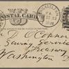 O'Connor, William D., APCS to. Feb. 23, [1883].