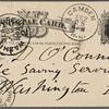 O'Connor, William D., APCS to. Sep. 25, [1883].