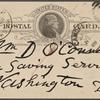 O'Connor, William D., APCS to. Jan. 24, 1888.