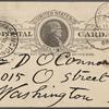 O'Connor, William D., APCS to. Jul. 11, 1888.