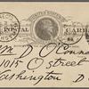 O'Connor, William D., APCS to. Oct. 7, 1888.