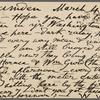 O'Connor, William D., APCS to. Mar. 4, 1889.
