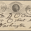 O'Connor, William D., APCS to. Mar. 13, 1889.