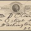 O'Connor, William D., APCS to. Mar. 14, 1889.