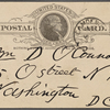 O'Connor, William D., APCS to. Apr. 4, 1889.