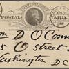 O'Connor, William D., APCS to. Apr. 7, 1889.