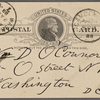 O'Connor, William D., APCS to. Apr. 28, 1889.
