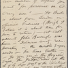 O'Connor, William D., ALS to. Apr. 14, [1883].