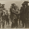 """General Pershing greeting the troops…"""