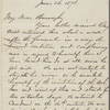 Eldridge, C. W. ALS to John Burroughs. Jun. 26, 1873.