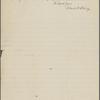 Eldridge, C. W. ALS to John Burroughs.  Apr. 30, 1897.