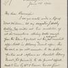 Eldridge, C. W. ALS to John Burroughs.  Jun. 14, 1902.