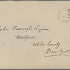 Eldridge, C. W. ALS to John Burroughs.  Jun. 19, 1902.