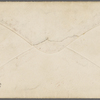 Eldridge, C. W. ALS to William D. O'Connor.  Jan. 22, [1865].