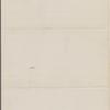 Eldridge, C. W. ALS to William D. O'Connor.  Sep. 1, 1886.