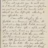 Eldridge, C. W. ALS to William D. O'Connor.  Mar. 21, 1888.