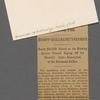 Harned, Thomas B. [communication] to R. M. Bucke.  [May 16, 1898: postmark].
