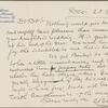 Harned, Thomas B. ALS to R. M. Bucke.  Dec. 23, 1898.