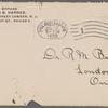 Harned, Thomas B. TLS to R. M. Bucke.  Jul. 18, 1899.