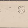 Harned, Thomas B. TLS to R. M. Bucke.  Jul. 24, 1899.