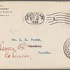 Harned, Thomas B. TLS to R. M. Bucke.  Aug. 18, 1899.