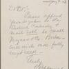 Harned, Thomas B. ALS to R. M. Bucke.  Jan. 4, 1902.