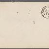 Harned, Thomas B. TLS to R. M. Bucke.  Jan. 30, 1902.