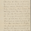O'Connor, W. D. letter to Matthew Arnold. Oct. 14, 1866. Holograph draft[?], signed.