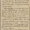 Newman, Francis, ALS to William D. O'Connor. Oct. 16, 1866.