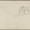 Raymond, H. J., ALS to William D. O'Connor. May 6, [1866].