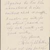 Whittier, John G., ALS to Thomas Donaldson. Sep. 5, 1885. [Previously given as Sep. 5, 1888].