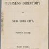 Wilson's Business Directory of New York City 1861-1862