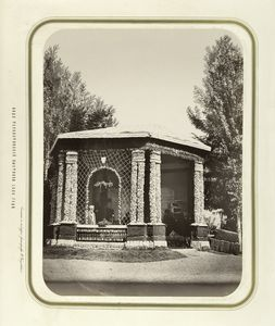 [Pavilion for unknown alcoholic beverage factory.]