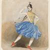 Fanny Elssler dancing the cracovienne