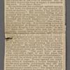O'Connor, William D., ALS to. Nov. 19, 1886.