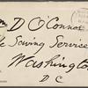 O'Connor, William D., ALS to. Aug. 4, 1888.