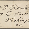 O'Connor, William D., ALS to. Nov. 9, 1888.