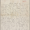 [Stafford], [Harry], ALS to. May 13, [1879]. Previously May 13, [1878].
