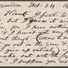 Stafford, Harry, APCS to. Feb. 24, [1881].