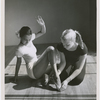 Actress Dorothy Dandridge (left) with dance instructor Olga Lunick, circa 1951.