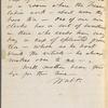 Whitman, Louisa Van Velsor, mother, ALS to. Oct. 30, 1866.