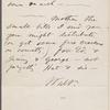 Whitman, Louisa Van Velsor, mother, ALS to. Jul. 2, 1866.