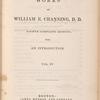 The works of William E. Channing, volume 4