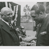 Duke Ellington (right) with composer W.C. Handy