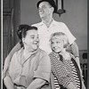 Lu Leonard, Eddie Foy Jr. and Jane Connell in rehearsal for the stage production Drat the Cat!
